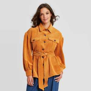 Women's Volume Sleeve Shirt Jacket - Who What Wear
