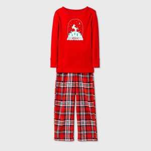 Toddler Girls' Unicorn Pajama Set - Cat & Jack Red