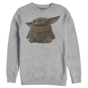 Men's Star Wars The Mandalorian The Child Portrait Sweatshirt