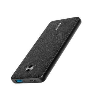 Anker Powercore Metro Slim 10000 mAh Power Bank with Power Delivery - Black