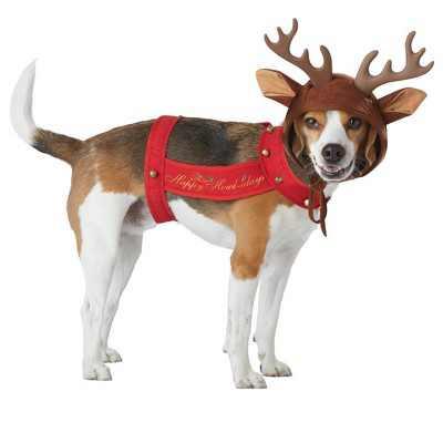 California Costumes Reindeer Pet Costume