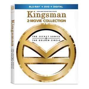 Kingsman 2-Movie Collection (Blu-ray + DVD + Digital)
