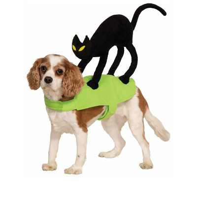 Forum Novelties Cat on My Back Doggie Pet Costume (Small)