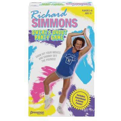 Pressman Richard Simmons: Sweat & Shout Party Game