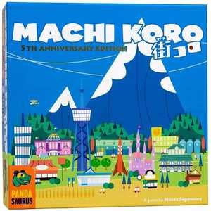 Machi Koro Strategy Game 5th Anniversary Edition