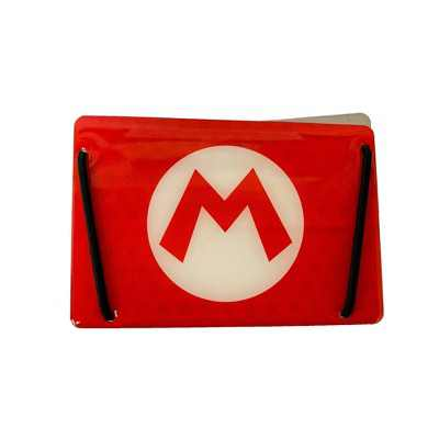 Nintendo Mario M Aluminum Card Holder - Red