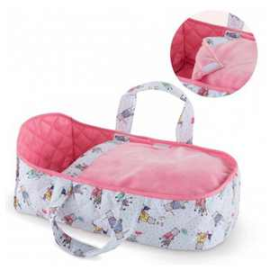 Corolle Mon Premier Poupon Carry Travel Bed Accessory for 12 Inch Baby Dolls