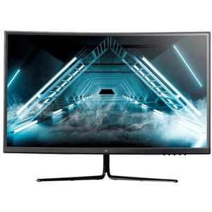 Monoprice Zero-G Curved Gaming Monitor - 27 Inch, 1500R, 2560x1440p, QHD, 144Hz, DisplayHDR 400, AMD FreeSync, VA, 16:9, 400 cd/m2
