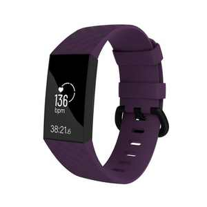 Replacement Band For Fitbit Charge 3 & Charge 4, Purple Size Small S by Zodaca