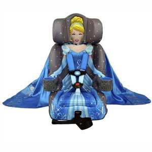 KidsEmbrace Disney Cinderella Platinum Safety Vehicle Combination 5 Point Harness High Back Booster Car Seat for Ages 12 Months to 10 Years Old