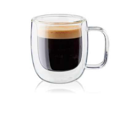 ZWILLING Sorrento Plus 2-pc Double-Wall Glass Espresso Mug Set