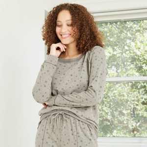 Women's Star Sweatshirt - Knox Rose Gray