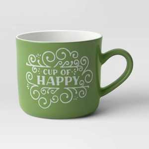 16oz Stoneware 'Cup Of Happy' Mug - Opalhouse™