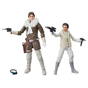 Star Wars The Black Series Han Solo and Princess Leia Organa Hascon Exclusive Figures