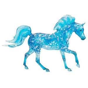 Breyer 2020 Freedom Series High Tide Hand-Painted and Hand-Crafted Collectible Horse Toy, Ocean Blue