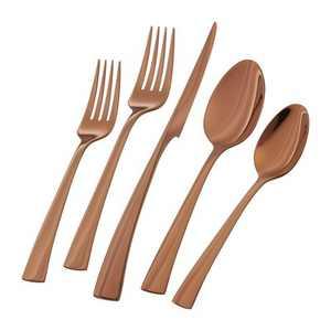 ZWILLING Bellasera 20-pc 18/10 Stainless Steel Flatware Set - Rose Gold