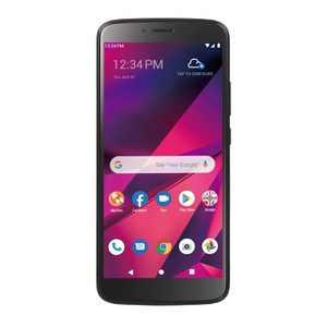 Tracfone BLU View Prepaid Mega (32GB) Smartphone - Black