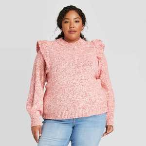 Women's Crewneck Pullover Sweater - Universal Thread