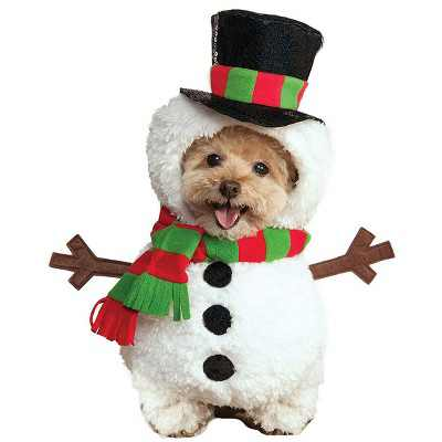 Rubies Snowman Pet Costume
