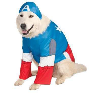 Marvel Captain America Big Dog Pet Costume