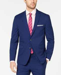 Men's Slim-Fit Stretch Wrinkle-Resistant Suit Jackets