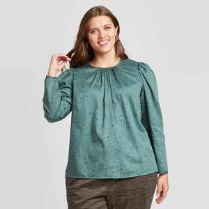 Women's Puff Long Sleeve Top - A New Day