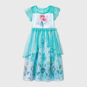 Toddler Girls' The Little Mermaid Nightgown - Green