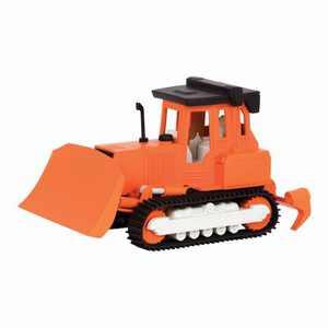 DRIVEN – Small Toy Construction Vehicle – Micro Bulldozer - Orange