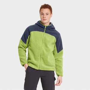 Men's Fleece Full Zip Sweatshirt - All in Motion