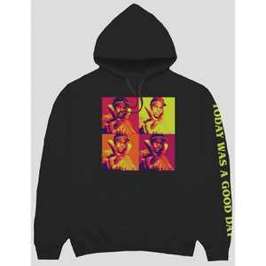 Men's Ice Cube Good Day Hooded Sweatshirt - Black