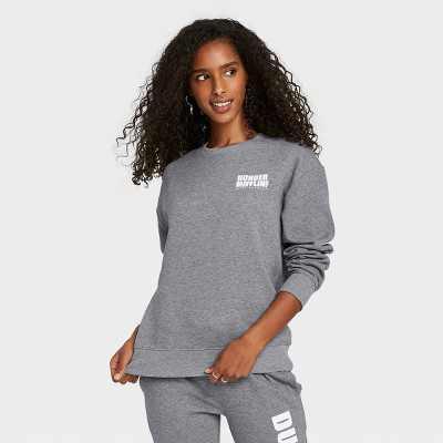 Women's The Office Dunder Mifflin Graphic Sweatshirt - Gray