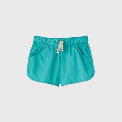Girls' Cover Up Swim Bottom - Cat & Jack Turquoise