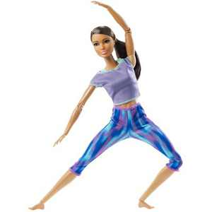 Barbie Made to Move Doll - Blue Dye Pants
