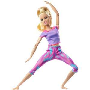 Barbie Made to Move Doll - Pink Dye Pants