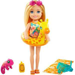 Barbie and Chelsea the Lost Birthday Doll - Giraffe Floatie