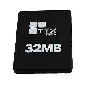 TTX Tech Memory Card 32MB Compatible with PS2