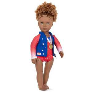 "Our Generation Athletic Team Series 18"" Gymnastics Doll - Nya"
