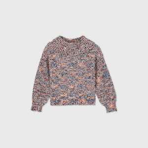 Girls' Chenille Sweater - art class White