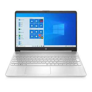 """HP 15.6"""" Laptop with Windows 10 Home in S mode - AMD Athlon Processor - 4GB RAM Memory - 256GB SSD Storage - Natural Silver (15-ef1040nr)"""