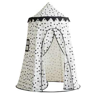 Asweets 1011205415 Indoor Childrens Kids Toddler Foldable Canvas Pop Up Play Tent House Toy for Ages 3 and Up, Up in the Stars
