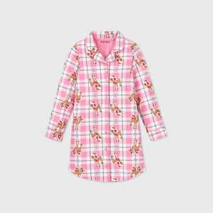 Girls' Rudolph the Red-Nosed Reindeer Granny Nightgown - Pink