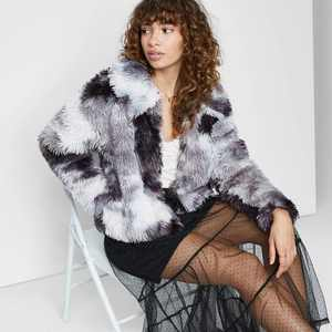 Women's Faux Fur Jacket - Wild Fable