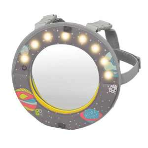 Go by Goldbug Lights & Music Flip Mirror