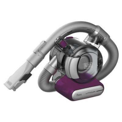 Black & Decker HFVB320J27 Dustbuster Flex 12V Brushed Lithium-Ion Cordless Hand Vacuum Kit (2 Ah)