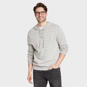 Men's Regular Fit Pullover Hoodie Sweater - Goodfellow & Co