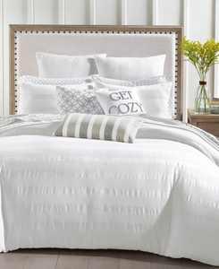 Basket Stripe 3-Pc. King Comforter Set, Created for Macy's