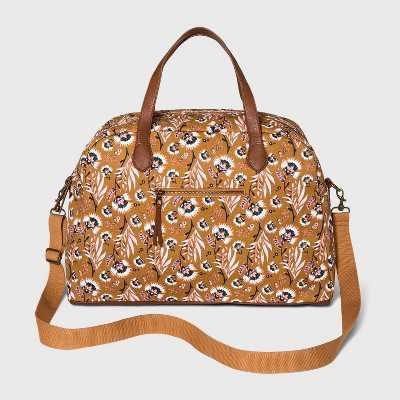 Floral Print Zip Closure Weekender Bag - Universal Thread™