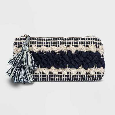 Striped Zip Closure Clutch - Universal Thread™