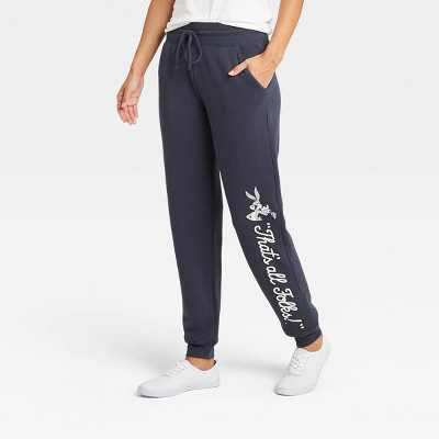 Women's Warner Bros. Looney Tunes Jogger Pants - Navy