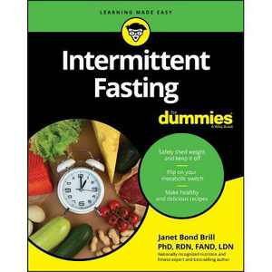 Intermittent Fasting for Dummies - by Janet Bond Brill (Paperback)